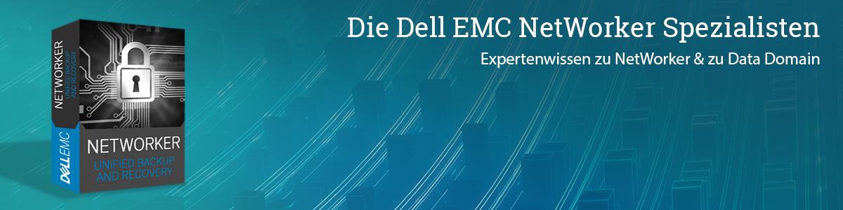 Die Dell EMC NetWorker Spezialisten